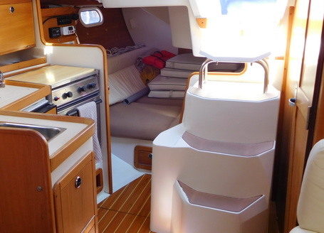 Looking aft-R